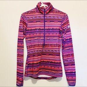 Nike DriFit 1/2 Zip Tribal Pullover Sweatshirt S